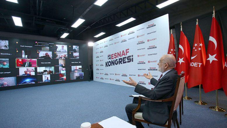 """Saadet'in """"Esnaf Kongresine"""" büyük ilgi!"""
