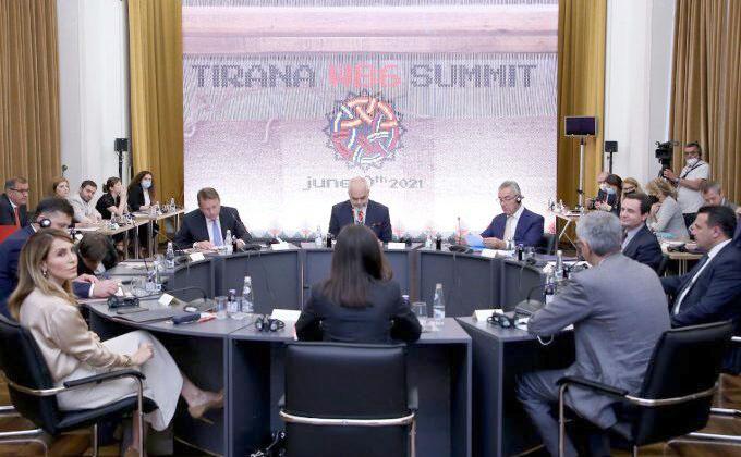 Batı Balkan Liderleri Zirvesi Tiran'da Başladı