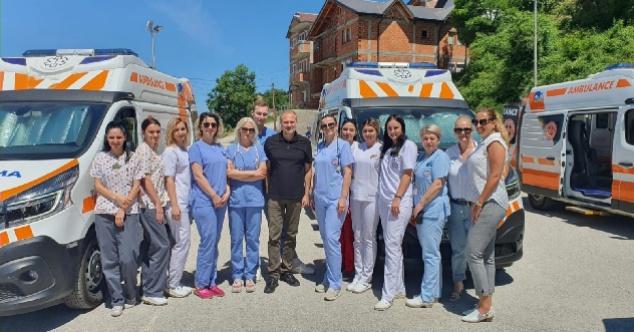 Kuzey Makedonya'daki soydaşlara sağlık taraması