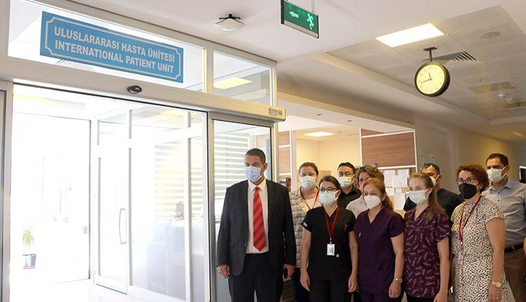 """""""Uluslararası Hasta Ünitesi"""" açıldı"""