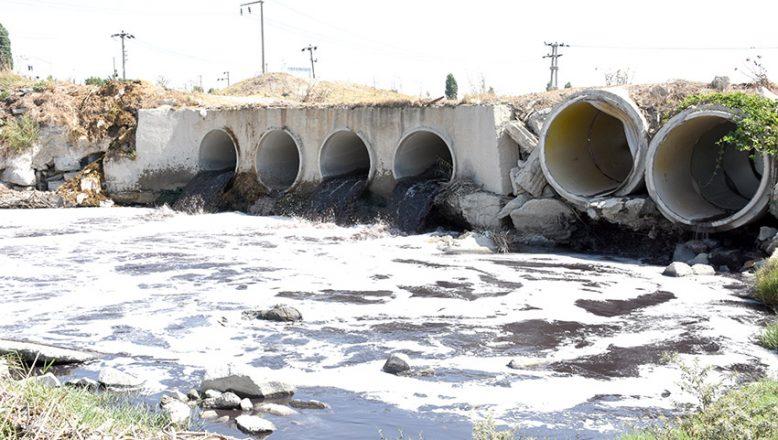 Çorlu Deresi'ne atık su deşarj eden 71 işletmeye ceza