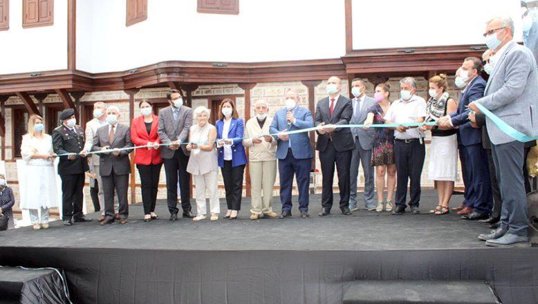 Necmi İğe Evi Etnografya Müzesi açıldı