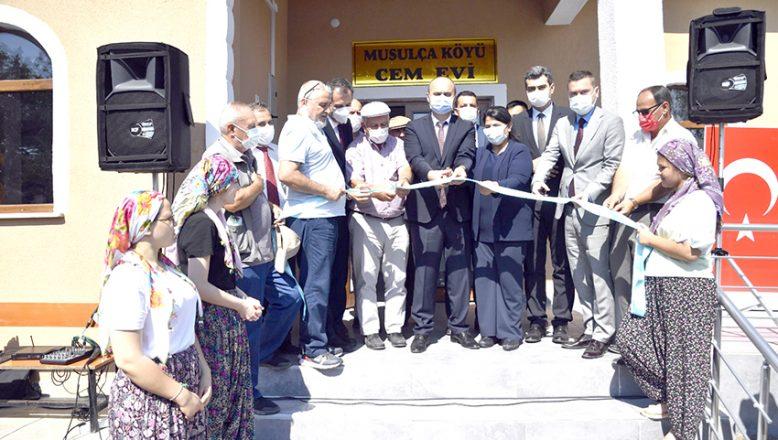 Musulça Köyü Cem Evi'ne kavuştu