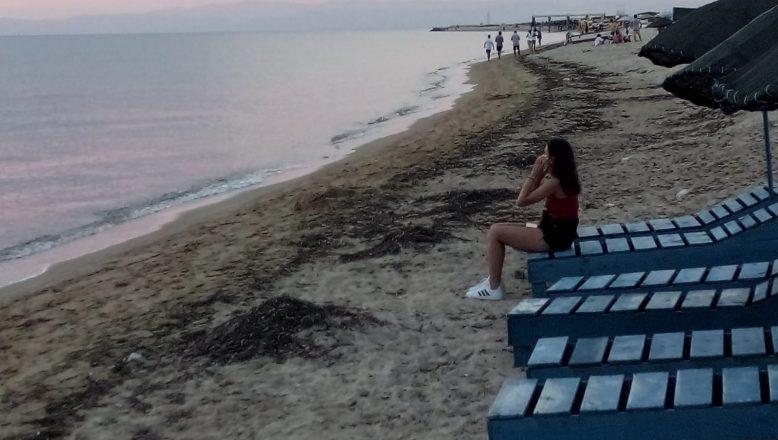 Enez sahilinden acı haber