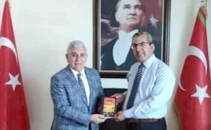 MHP'den Bölge Müdürü Kınık'a ziyaret