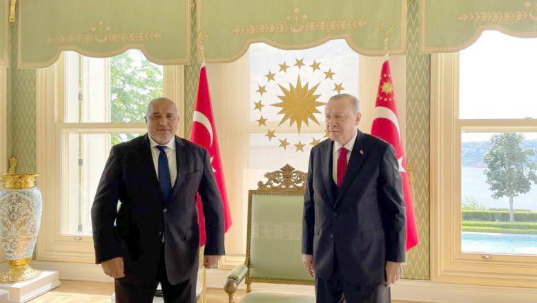 GERB lideri Borisov, Cumhurbaşkanı Erdoğan ile bir araya geldi