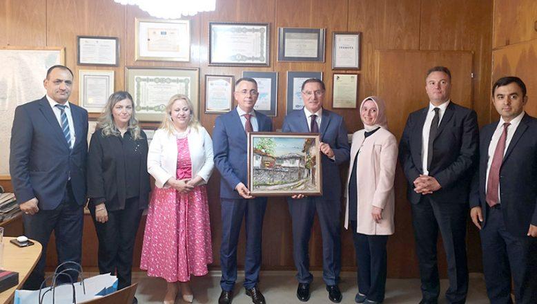 Kamu Başdenetçisi Şeref Malkoç Kırcaali'yi ziyaret etti