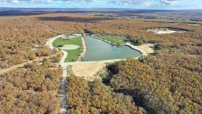Ormanlık alanlar drone ile kontrol edildi