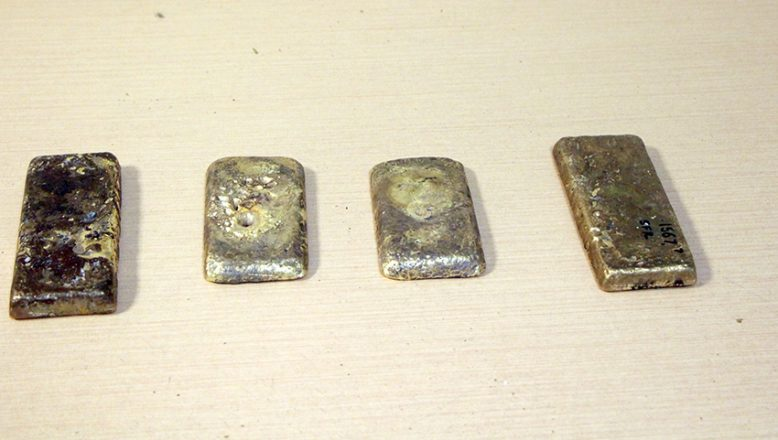 Otobüsteki zulada 5 kilogram altın