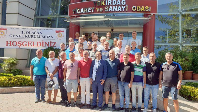 """""""Trakya Veteranlar Masterlar Federasyonu"""" kuruldu"""