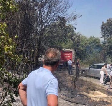 Kosova'nın bazı bölgelerinde yangın çıktı