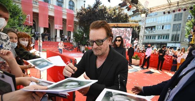 U2'nin solisti Bono, Saraybosna Film Festivali'ne katıldı