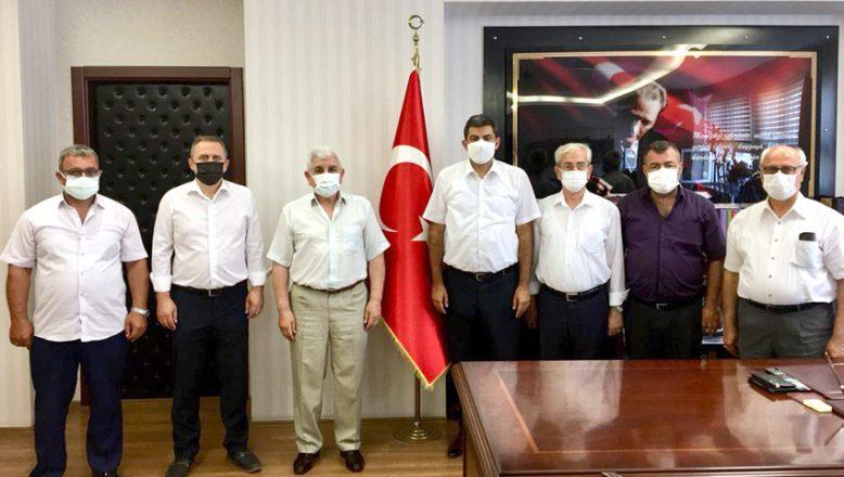 MHP'den Başsavcı Çakmak'a ziyaret