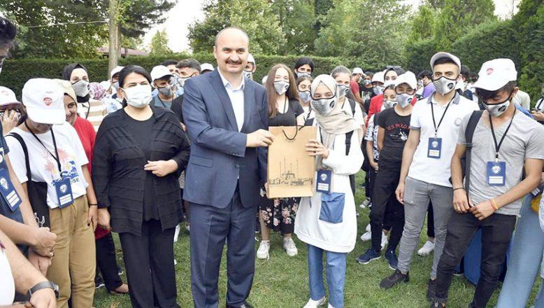 Edirne'nin tarihi mekanlarını gezdiler