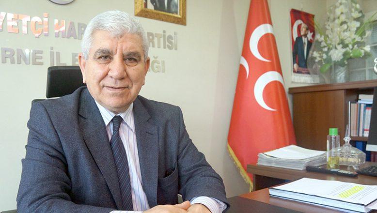 """Tercan, """"Edirne'den milletvekili çıkaracağız"""""""