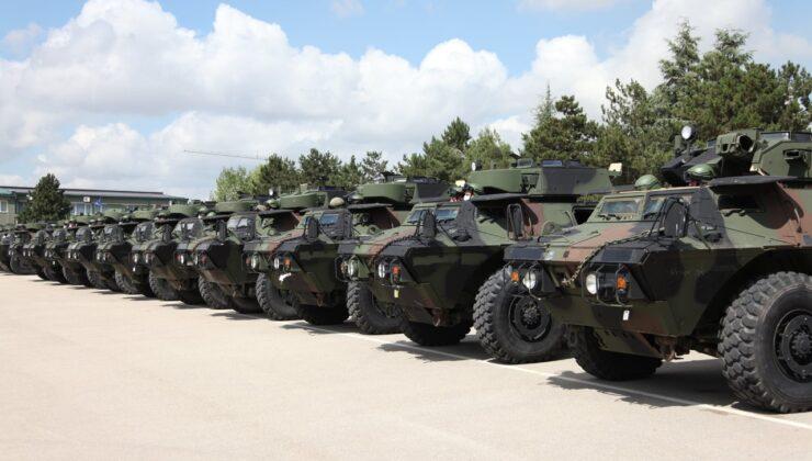 ABD'den Kosova Güvenlik Gücü'ne Zırhlı Araç bağışladı