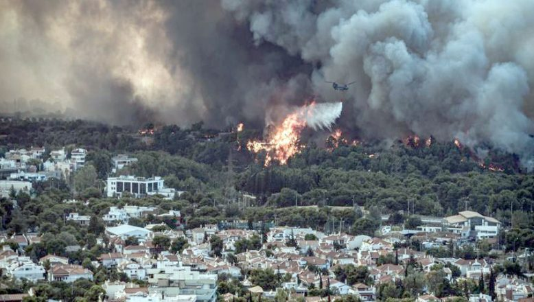 Yunanistan'da orman yangınları… Atina'da yaşayanlara 'evden çıkmayın' çağrısı!