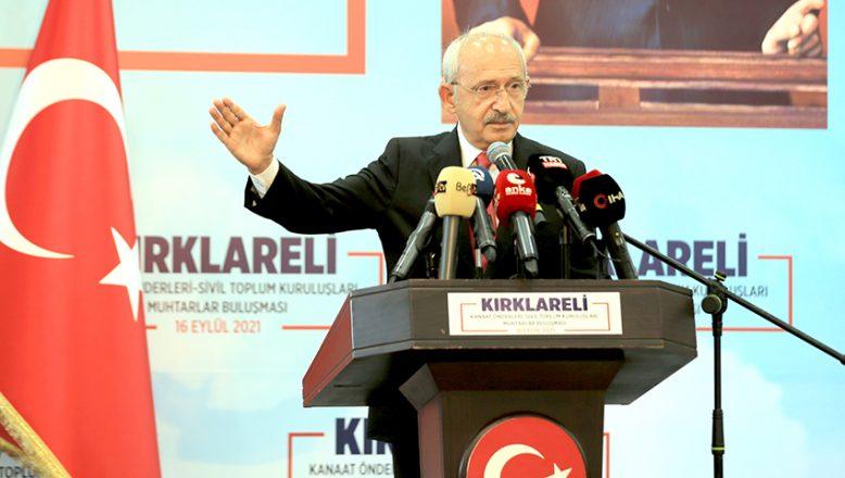 """Kılıçdaroğlu, """"Çözmezsem siyaseti bırakacağım"""""""