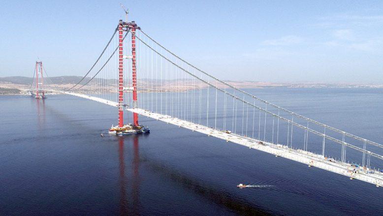 1915 Çanakkale Köprüsü'nde bir ilk!