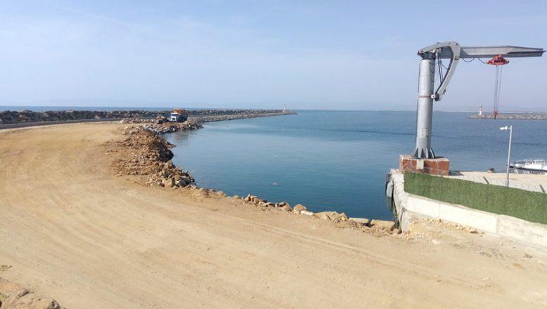 Enez Deniz Gümrük Kapısı için çalışmalar sürüyor