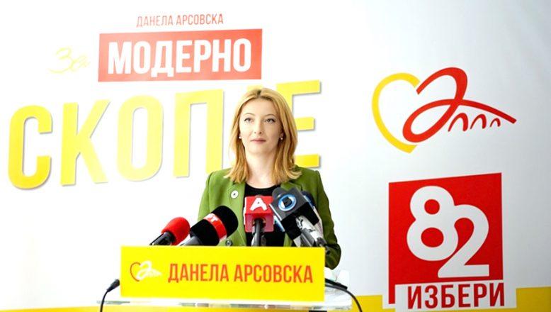 Arsovska: Üsküplülere toplu taşıma ücretsiz olacak