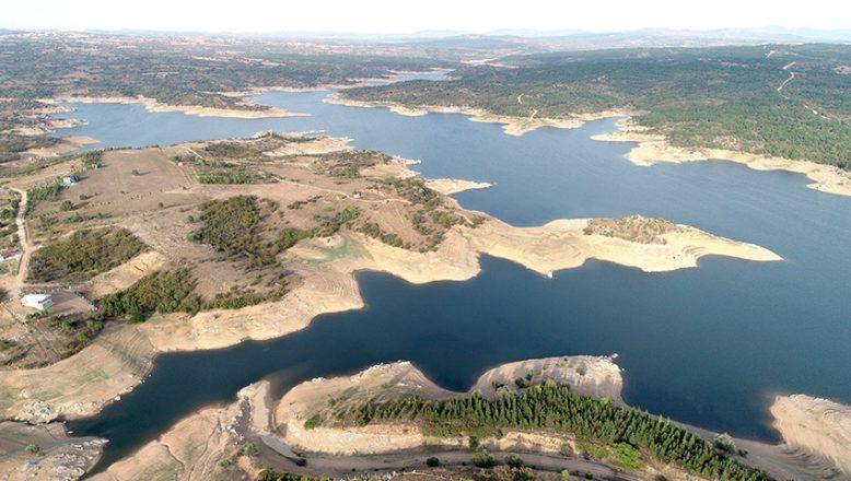 Barajların doluluk oranı yüzde 41'e geriledi