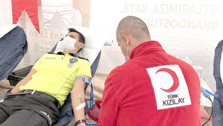 Emniyetten kan bağışı seferberliği