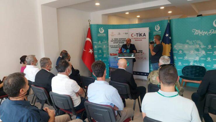 Kosova'da Türkçe eğitim veren okul ve üniversitelere kitap dağıtımı yapıldı