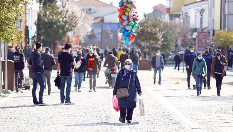 Vaka sayıları Edirne'de azaldı