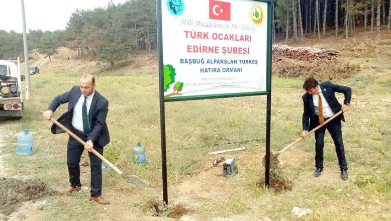 Türkeş için Hatıra Ormanı