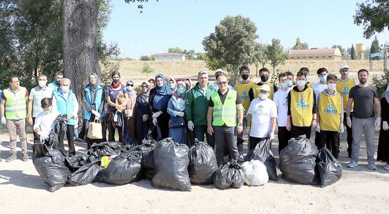 Tunca'ya gönüllü temizliği