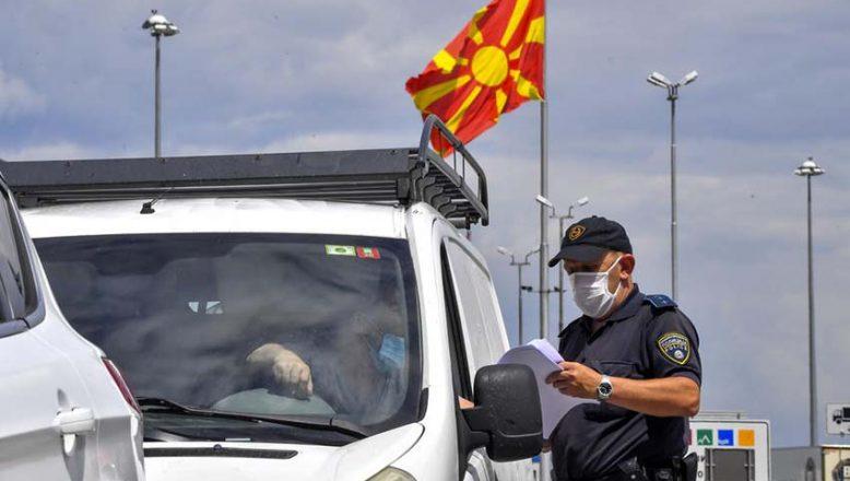 Kuzey Makedonya'ya girişlerde yeni tedbirler devrede