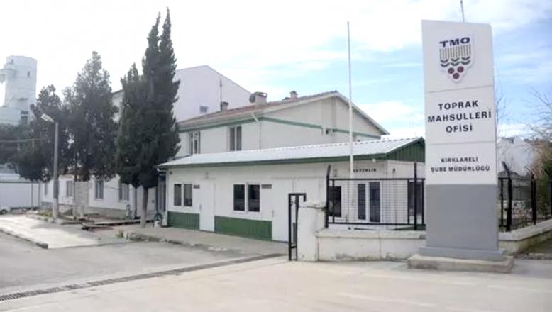 Toprak Mahsulleri Ofisi Kırklareli Şube Müdürlüğü'nden