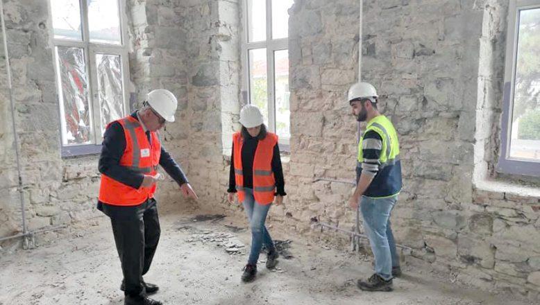 Kent Müzesi'nin restorasyonu başladı