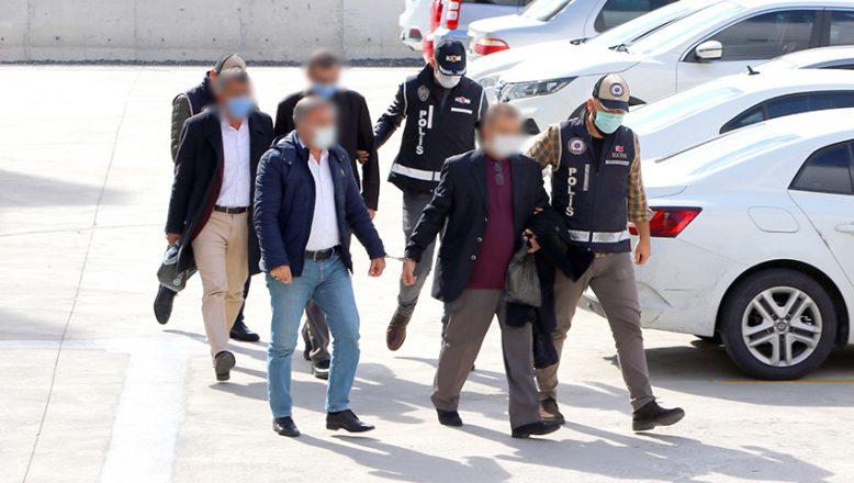 'İhaleye Fesat' operasyonunda 40 kişiden 12'si adliyeye sevk edildi