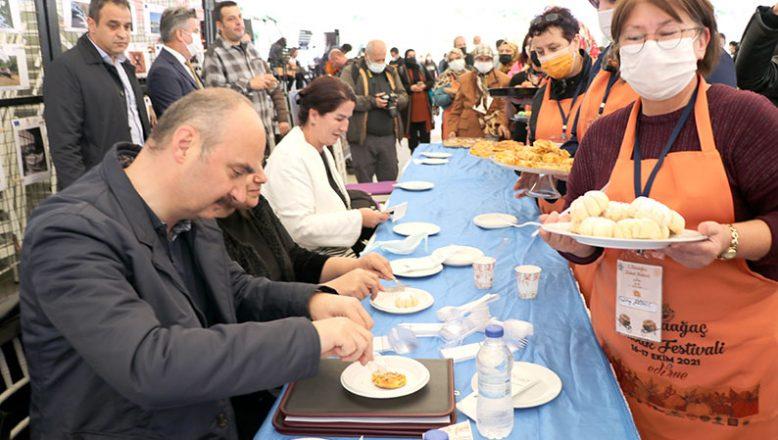 Kabak Festivalinde yemekler yarıştı