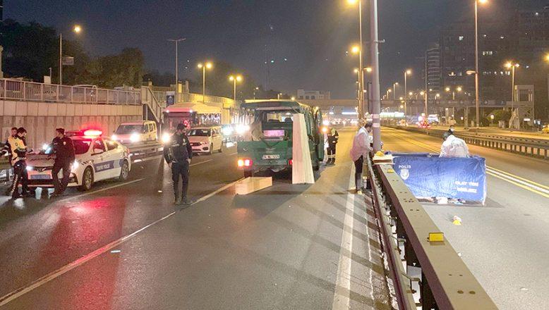 İstanbul'da trafik kazasında 1 kişi öldü