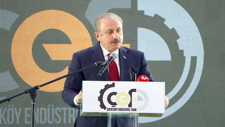 TBMM Başkanı Şentop, fuar açılışında konuştu