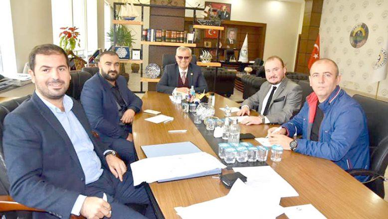 Kulüp başkanlarından Helvacıoğlu'na ziyaret