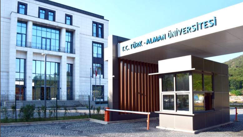 Türk-Alman Üniversitesi Rektörlüğü'nden