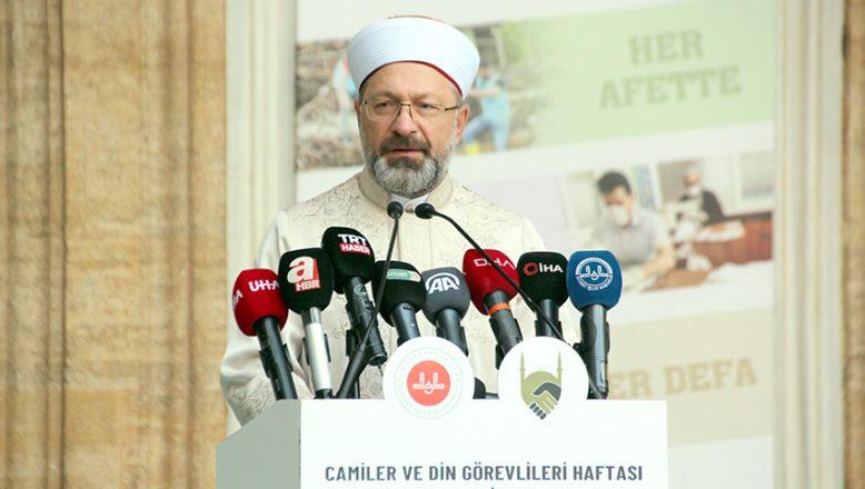 Erbaş, Edirne'de konuştu