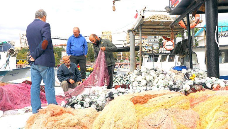 Tekirdağlı balıkçılar poyraza takıldı