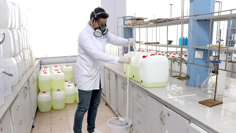 Dezenfektandan 200 milyon liralık tasarruf
