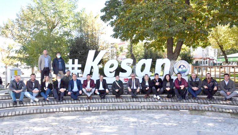 Helvacıoğlu, Keşanlı gazetecilerle buluştu