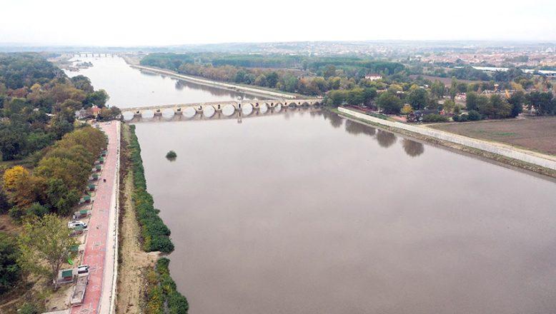 Meriç Nehri'nin debisi 5 kat arttı