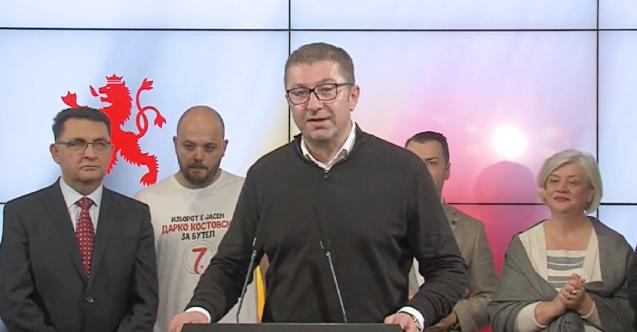 Kuzey Makedonya'da muhalefet önde