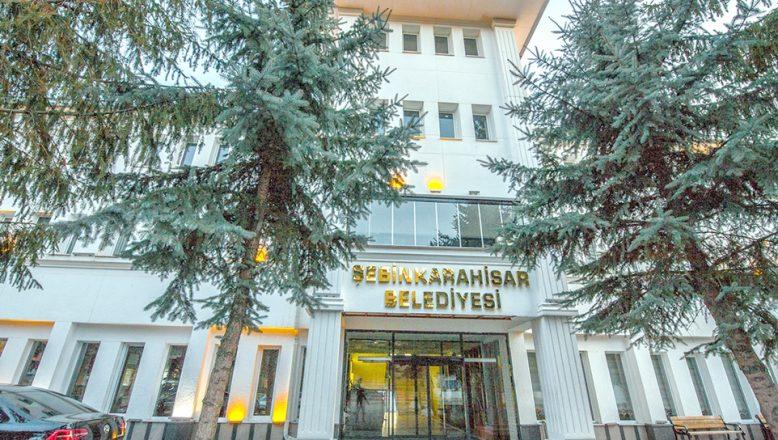 Şebinkarahisar Belediye Başkanlığı'ndan