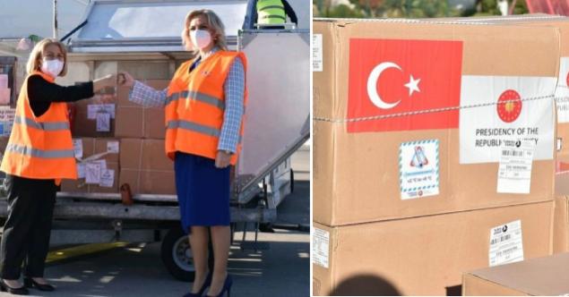 Türkiye'nin hibe ettiği aşılar Karadağ'a ulaştı