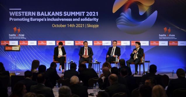 """Üsküp'te """"Batı Balkanlar 2021 Zirvesi"""""""
